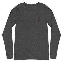 Load image into Gallery viewer, Anchor | Embroidered Unisex Long Sleeve Tee