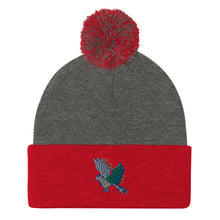 Load image into Gallery viewer, Blue Bird | Pom-Pom Beanie