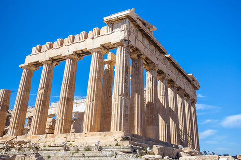 The Greek Parthenon in Athens, Greece