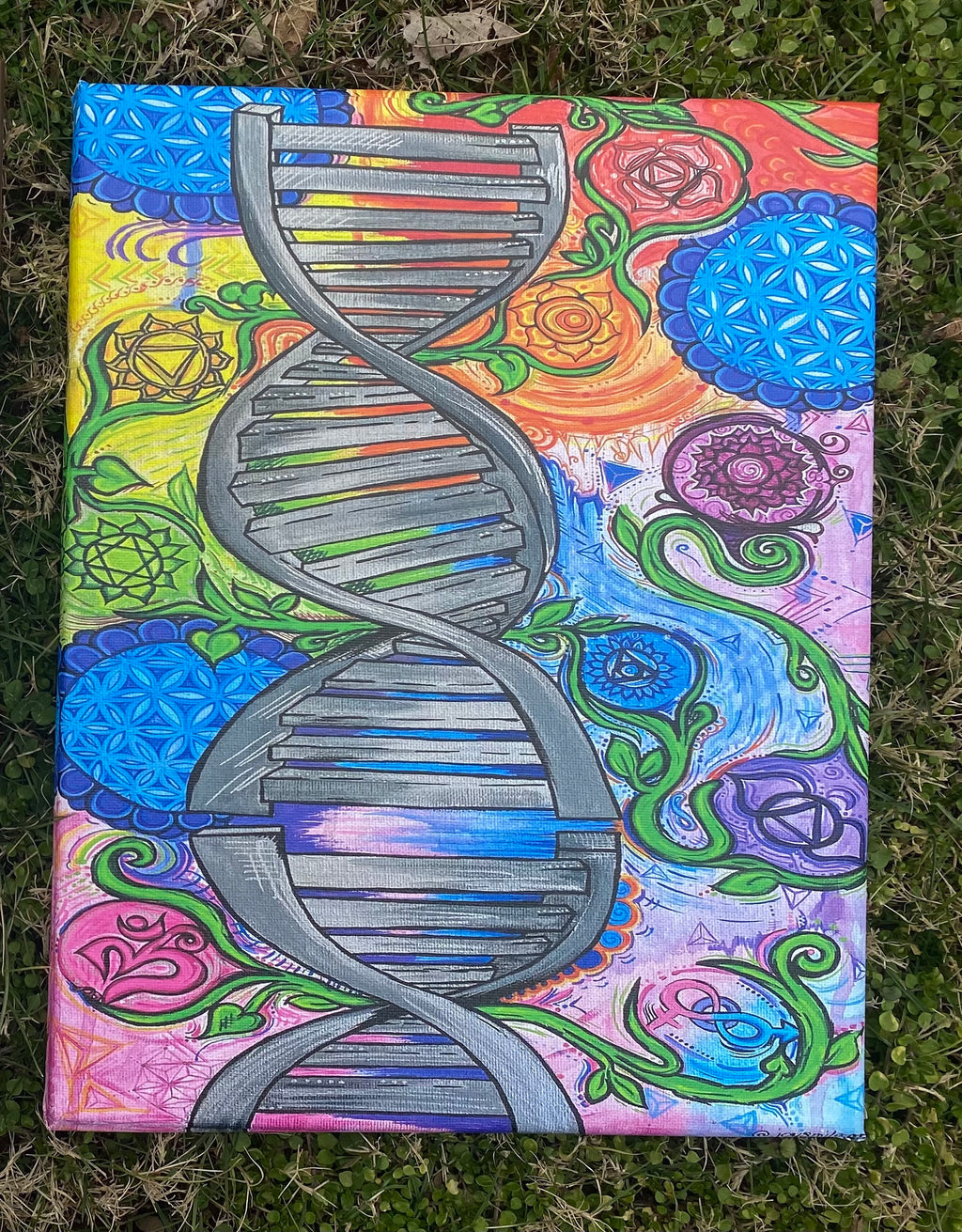 DNA of Nature Canvas Print 11/14 inches
