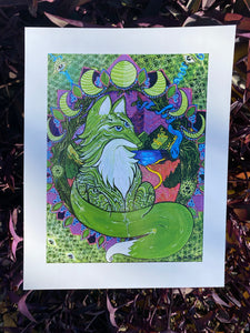 Sionna: The Fox Goddess 11x14 in Print