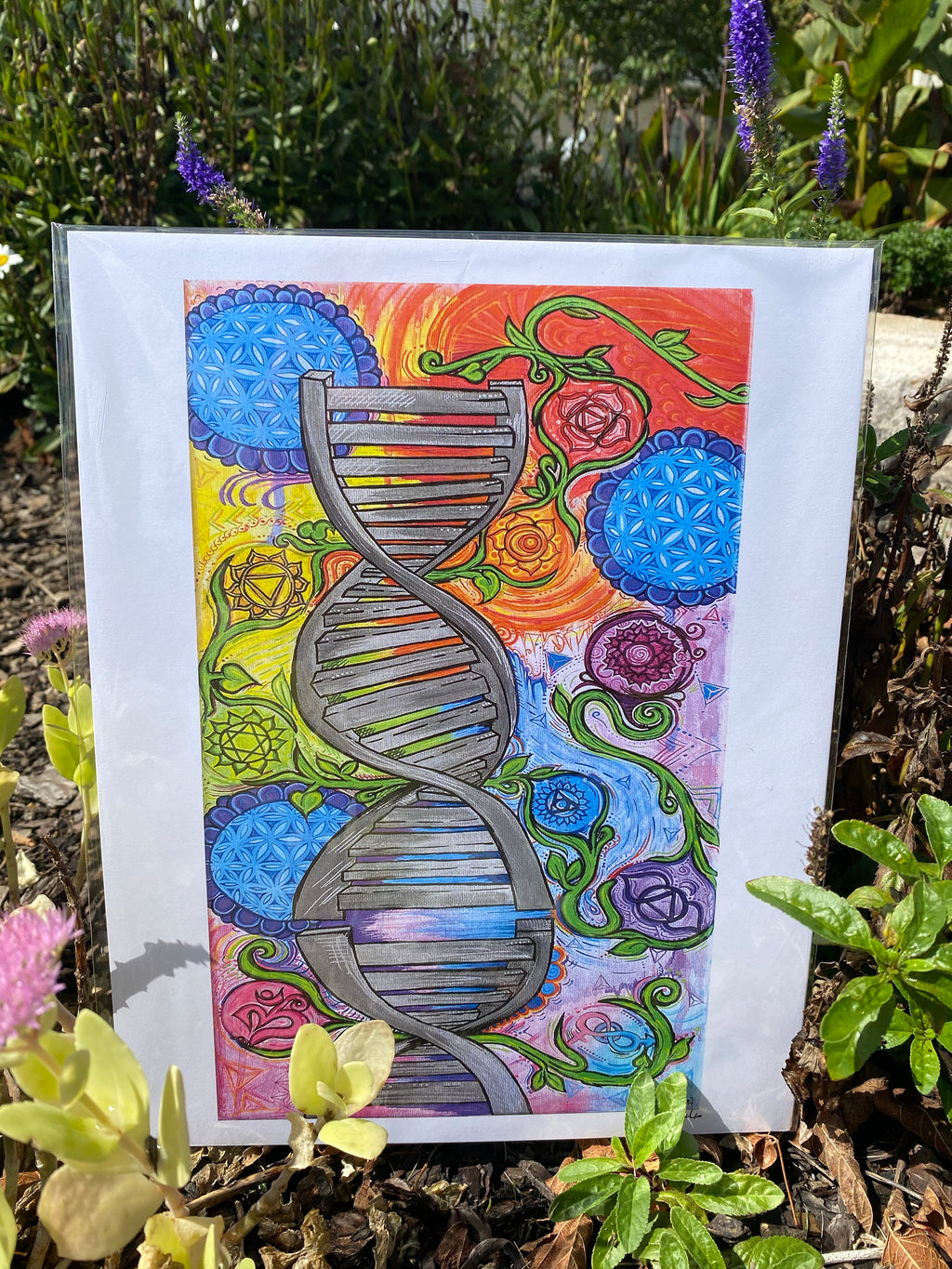 """Nature in Our DNA"" 11x14 inch Art Print"