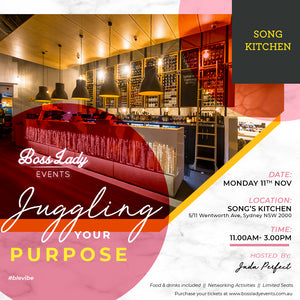 EVENT FOUR- 2019 Juggling Your Purpose