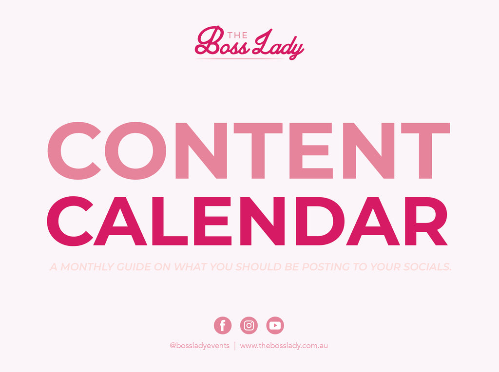 Content Calendar - Free Download