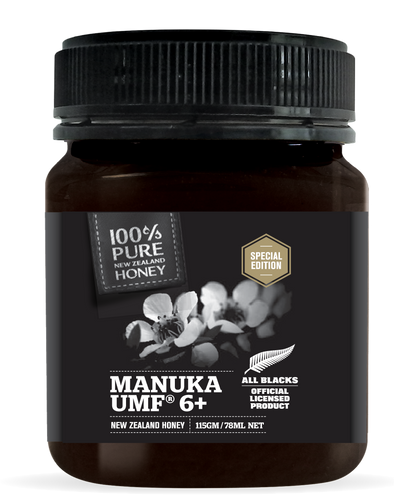 All Blacks Manuka Honey UMF 6+ 115g