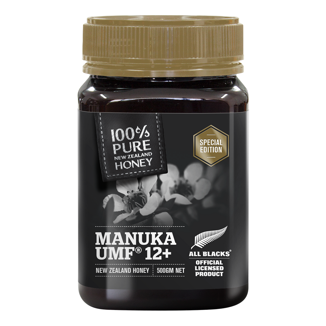 All Blacks UMF 12+ Manuka Honey 500g