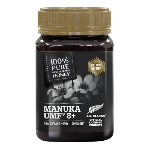 All Blacks UMF 8+ Manuka Honey 500g