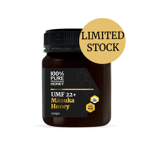 UMF 22+  Manuka Honey 250g