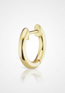 Traditional Espionne, 14K Yellow Gold, 8mm Hoops