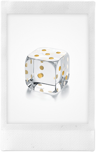 Dice Paperweight