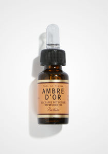 the-conservatory-nyc - POTPOURRI REFRESHER OIL, AMBRE D'OR, 0.3 OZ - BASTIDE - WELL BEING