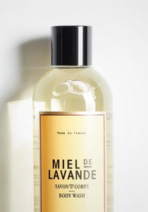 Miel de Lavande Natural Body Wash