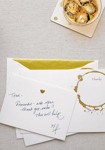 Gold Ring Card