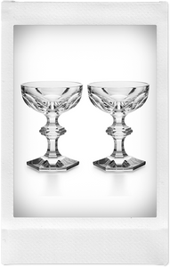 the-conservatory-nyc - BACCARAT HARCOURT 1841 COUPE, SET OF 2 - BACCARAT - LIVING
