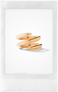 The Snake, 18K Rose Gold Ring