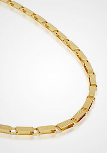 Signora Matinee, Gold-Plated Chain Necklace
