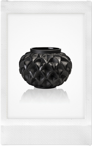 the-conservatory-nyc - LANGUEDOC VASE, BLACK - LALIQUE - LIVING