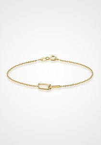 Linked, 18K Yellow Gold Bracelet