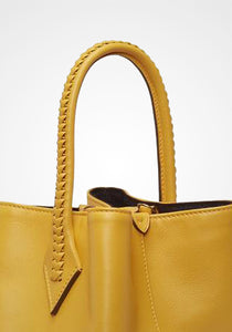 Perriand Mini Smooth Calfskin Collapsible Tote