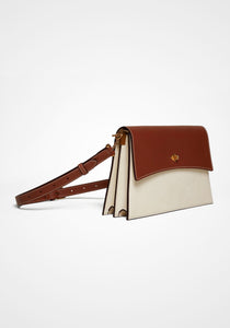 Roma Smooth Calfskin Shoulder Bag