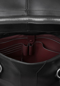 the-conservatory-nyc - LE PETIT VOYAGE OVERNIGHT BRIEFCASE, BLACK ATELIER - METIÉR LONDON - MENS