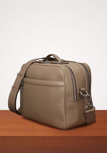 the-conservatory-nyc - WANDERER MESSENGER, SMOOTH CALFSKIN, MUSHROOM - METIÉR LONDON - MENS