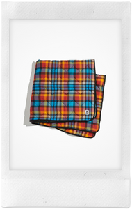 The Time Bandits Plaid Dog Blanket, Medium