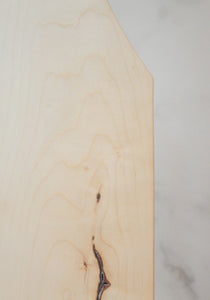"Edward Maple Board, Symmetrical, 8"" x 24"""