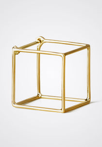 the-conservatory-nyc - 3D LARGE SQUARE EARRING, SINGLE - SHIHARA - JEWELRY