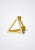 the-conservatory-nyc - 3D SMALL TRIANGLE EARRING, SINGLE - SHIHARA - JEWELRY