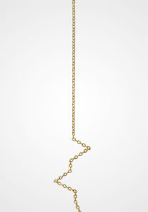 Chain 01, 18K Yellow Gold Earring