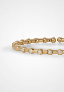 Holly Stackable, 18K Yellow Gold Bracelet