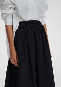 Pull on Cocoon Skirt
