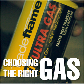 CHOOSING THE RIGHT GAS