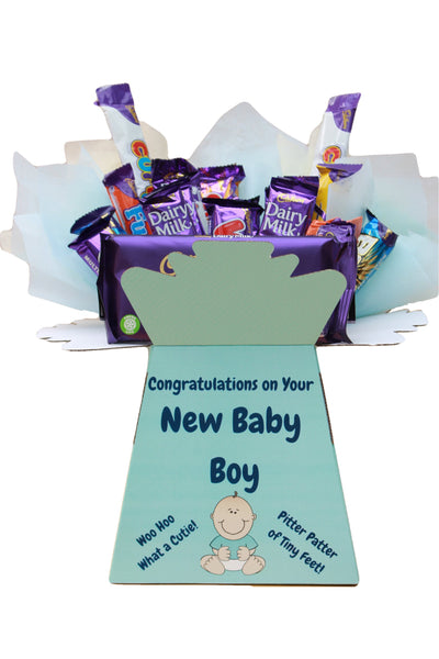 New Born Boy Gift For New Mum Chocolate