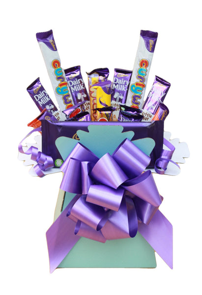 Cadbury Chocolate Bars Bouquet Gift