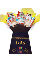Kinder Personalised Chocolate Bouquet Hamper Gift