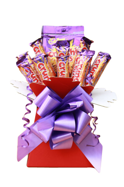 Cadbury Chocolate Bouquet Crunchie Hamper Gift