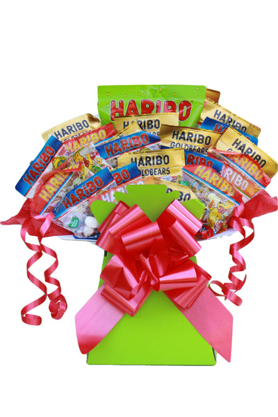 Haribo Sweets Gift Bouquet Hamper Box