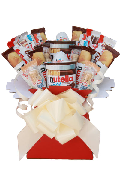 Nutella & Kinder Chocolate Hamper Gift