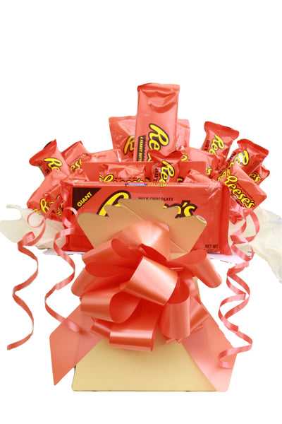 Reese's Peanut Butter Chocolate Hamper Bouquet Gift