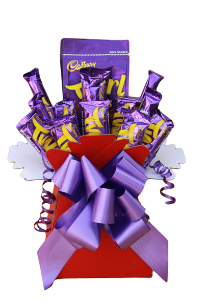 Cadbury Twirls Chocolate Bouquet Hamper Gift