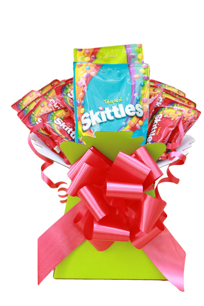 Skittles Sweets Hamper Bouquet Gift Box