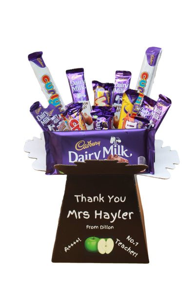 Teacher's Gift, Chocolate Bouquet, Cadbury