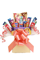 Mixed chocolate bars hamper bouquet gift