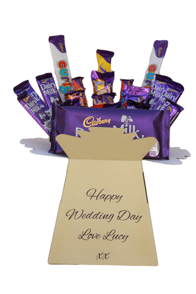Chocolate Wedding Gift Hamper Cadbury