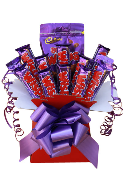 Chocolate Hamper Gift Bouquet Cadbury Wispa