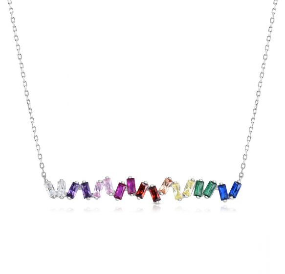 Scattered Bar Necklace