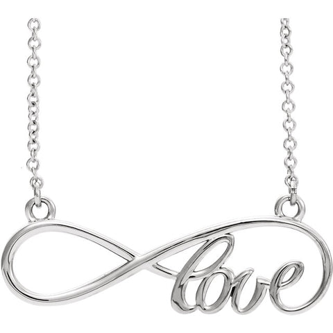 Love Infinity-Inspired Necklace