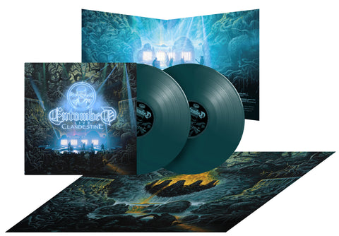 Entombed - Clandestine - Live - 2LP Gatefold / 180gr SOLID DARK GREEN + POSTER Limited edition of 500 copies